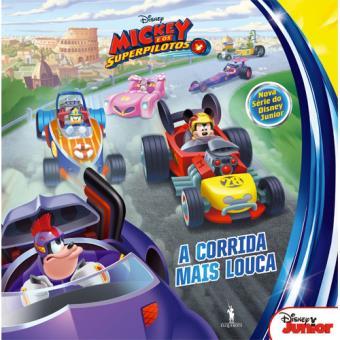 Mickey e os SuperPilotos - Livro 1: A Corrida Mais Louca