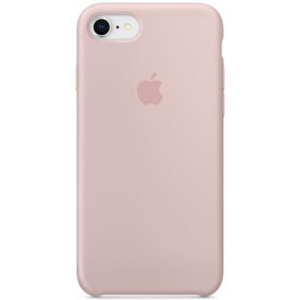 Capa Silicone Apple para iPhone 8 | 7 - Rosa Areia