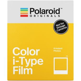 Carga Polaroid Originals i-Type Cor - 8 Folhas