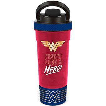Garrafa de Água Metálica Wonder Woman