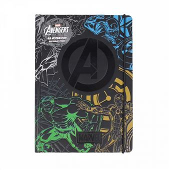 Caderno Premium Marvel Avengers A5