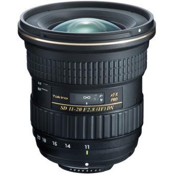Objetiva Tokina AT-X 11-20mm f/2.8 PRO DX para Nikon