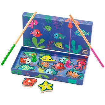 Jogo de Pesca Magnético Colorée - Djeco