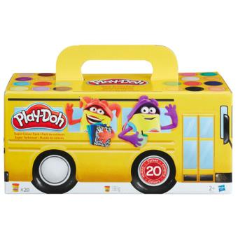 Play-Doh Pack Super Cores 20 Potes - Hasbro