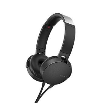 Auscultadores Sony MDR-XB550AP Com fios Preto