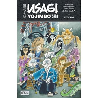 Usagi yojimbo saga: legends