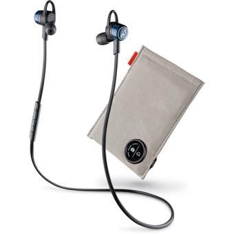 Auriculares Plantronics Backbeat Go 3 Wireless + Bolsa Carregamento - Preto   Azul Cobalto