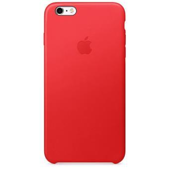 Apple Capa Pele para iPhone 6s Plus | 6 Plus (Vermelho)