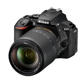 Nikon D5600 + AF-S DX 18-140mm G ED VR Kit câmara SLR 24.2MP CMOS 6000 x 4000pixels Preto