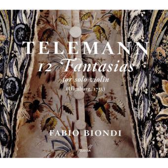 Telemann: 12 Fantasias for Solo Violin, Hamburg, 1735