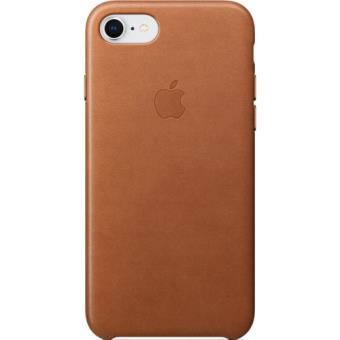 Capa Pele Apple para iPhone 8 | 7 - Castanho Sela