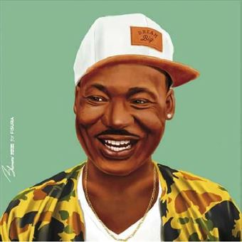 Poster Fisura Hipstory - Martin Luther King