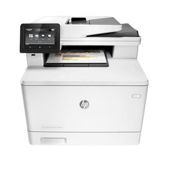 HP LaserJet Pro MFP M477fdn 600 x 600DPI Laser A4 27ppm Cinzento multifunções