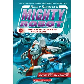 Ricky ricotta's mighty robot vs the