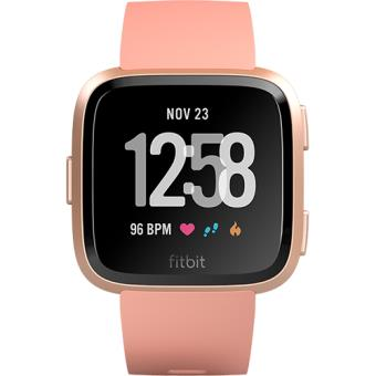Smartwatch Fitbit Versa - Peach