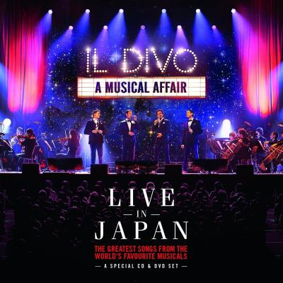 Il Divo - Live Performance of 'Memory' in Tokyo