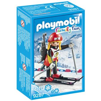 Playmobil Family Fun 9287 Atleta Feminino