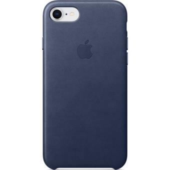 Capa Pele Apple para iPhone 8   7 - Azul Meia Noite