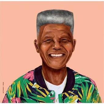 Poster Fisura Hipstory - Nelson Mandela