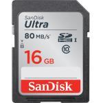 Sandisk SDHC Classe 10 Ultra UHS-I 16GB