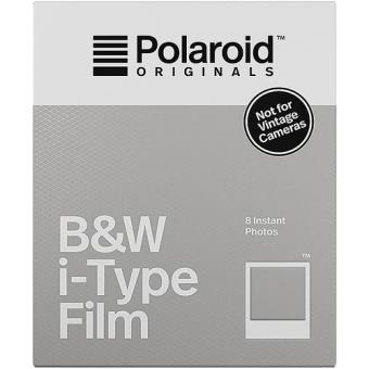 Carga Polaroid Originals i-Type Preto e Branco - 10 Folhas