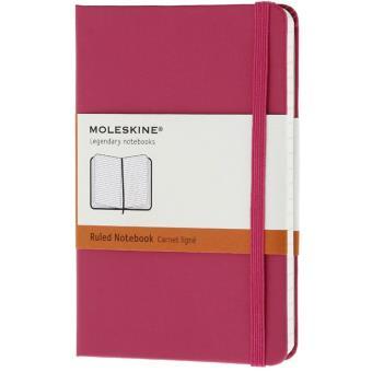 Caderno Pautado Moleskine Bolso Rosa