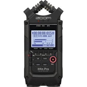 Gravador H4n Pro Black Zoom