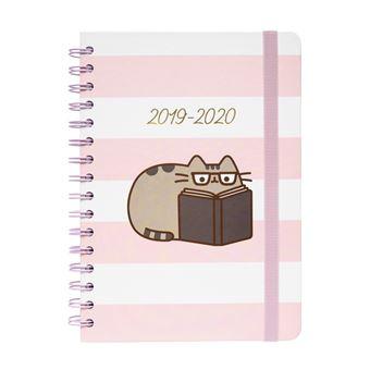 Agenda Escolar 2019-2020, 12 Meses Pusheen The Cat - A5