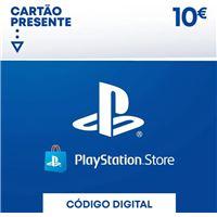 PSN Playstation Network Card 10€ - Cartão Digital