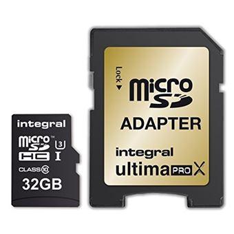 Cartão memória Integral  SDHC 32GB INSDH32G10-95/60