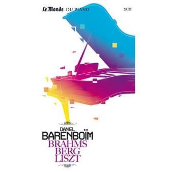 Brahms, Berg & Liszt (2CD+Livro)