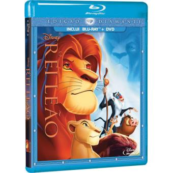 Rei Leão - Edição Diamante (Blu-ray + DVD)