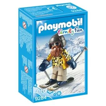 Playmobil Family Fun 9284 Esquiador