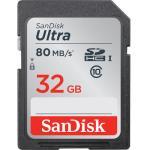 Sandisk SDHC Classe 10 Ultra UHS-I 32GB