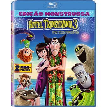 Hotel Transylvania 3: Umas Férias Monstruosas - Blu-ray