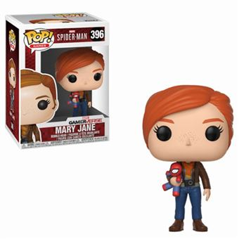 Funko Pop! Spider-Man: Mary Jane with Plush - 396