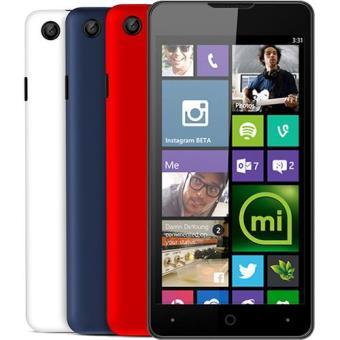 Smartphone Yezz Billy 4.7 Dual SIM (Blue/Red/White)
