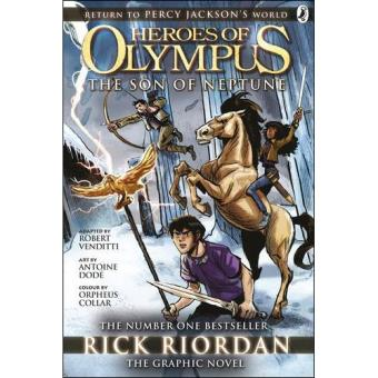 Heros of Olympus - book 2: The Son of Neptune - The Graphic Novel