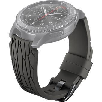 Bracelete Silicone Samsung Arik Levy para Gear S3 - Castanho