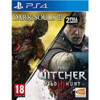 The Witcher 3 + Dark Souls III - PS4