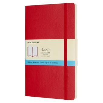 Caderno Liso Moleskine Soft XL Vermelho