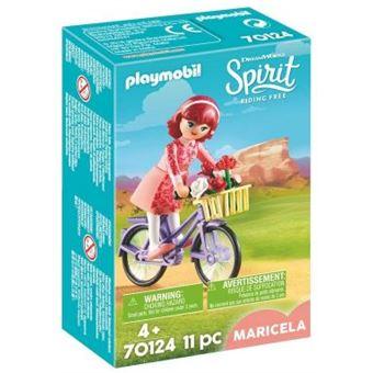 Playmobil Spirit Riding Free 70124 Maricela com Bicicleta