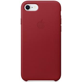 Capa Pele Apple para iPhone 8 | 7 - Vermelho
