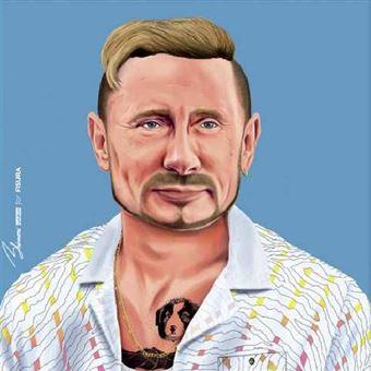 Poster Fisura Hipstory - Vladimir Putin