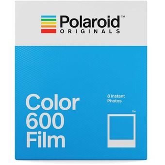 Carga Polaroid Cores para 600 - 8 Folhas