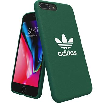 Capa Adidas Adicolor Moulded para iPhone 8 Plus - Verde