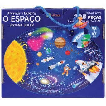 Puzzle Aprende e Explora: O Espaço