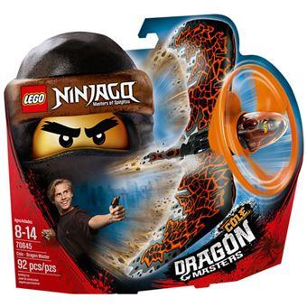 LEGO NINJAGO 70645 Cole - Mestre Dragão
