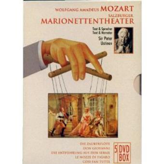 Mozart   Salzburger Marionettentheater (5DVD)