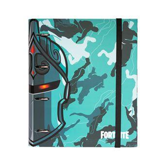 Dossier de 4 Argolas Premium Fortnite - Azul